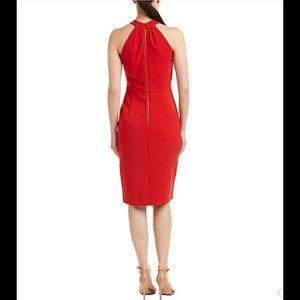 Taylor Dresses -  Taylor twist neck crepe halter dress NWT 12